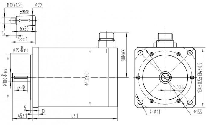 130mm2ph-size