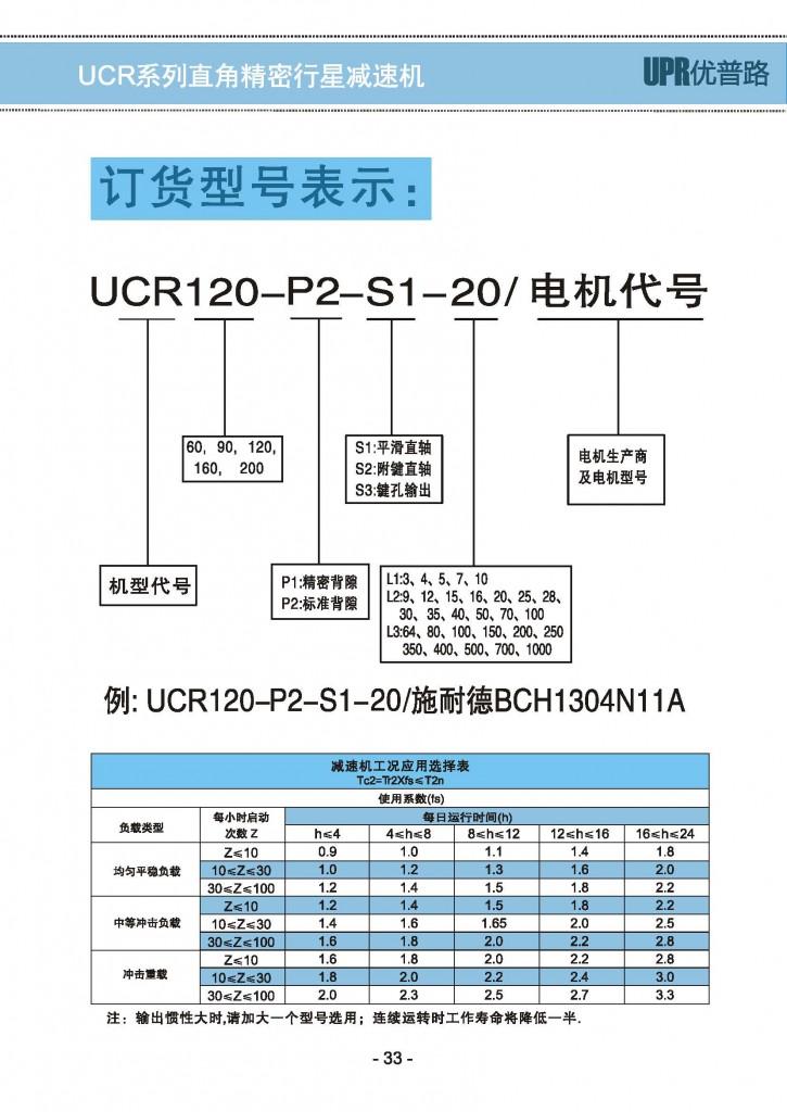 UCR-2精密行星减速机